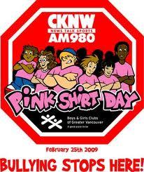 ピンクシャツデー2009年ロゴ