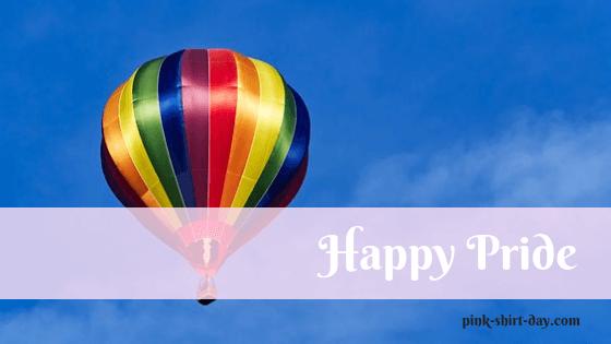 青空と七色の気球