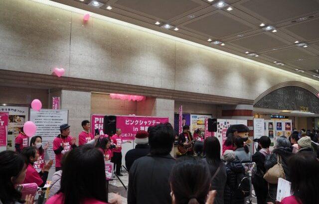 ピンクシャツデー神奈川